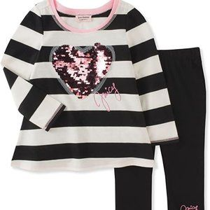 Juicy Couture Girls' Tunic Legging Set size 5